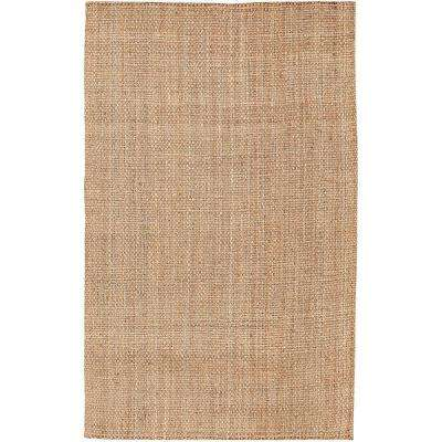 Londonderry Brown 3 ft. 6 in. x 5 ft. 6 in. Area Rug
