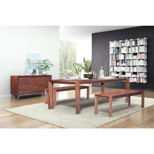 Zuo Perth Chestnut Extendable Dining Table 100588 The