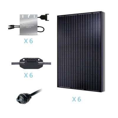 1500-Watt Monocrystalline Solar Kit for On-Grid Solar System