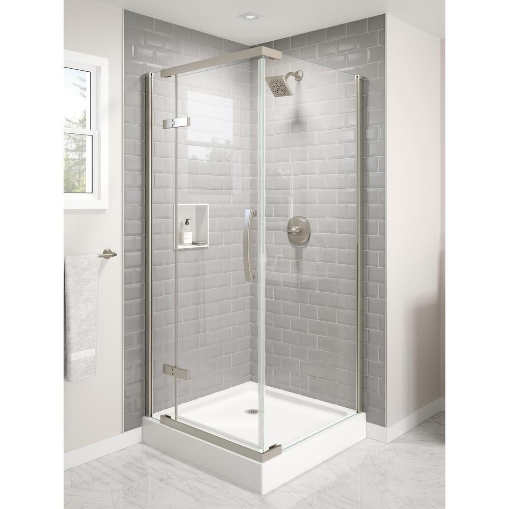 Delta Classic 36 In W X 76 H, Bathroom Enclosures Home Depot