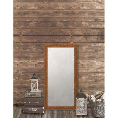 Remington 24.75 in. x 48.75 in. French Antique Wide Framed Antique Mirror