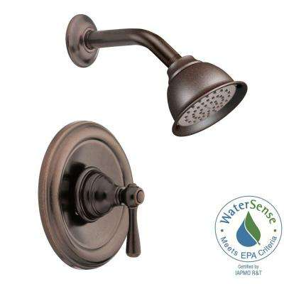Kingsley Posi-Temp 1-Handle Eco-Performance Shower Trim Kit in Oil Rubbed Bronze (Valve Not Included)