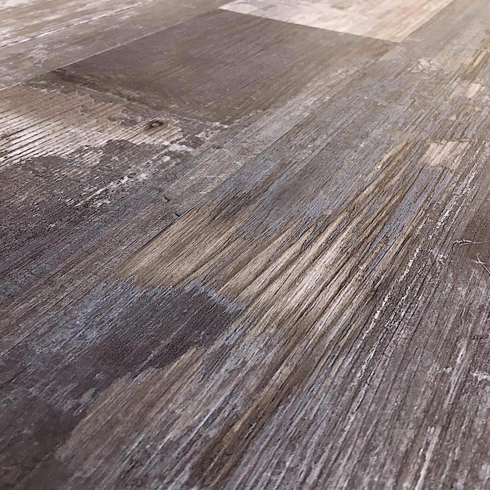 Colors Floor and Wall Reggae Wood Style 6 in. x 36 in. Multi-Tonal Glue Down Luxury Vinyl (2400 sq.ft./80 cases/pallet)