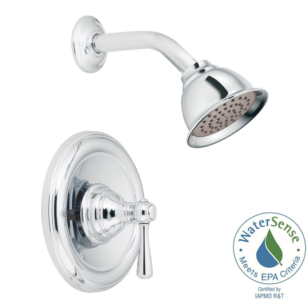 Kingsley Posi-Temp 1-Handle Eco-Performance Shower Trim Kit in Chrome (Valve Not