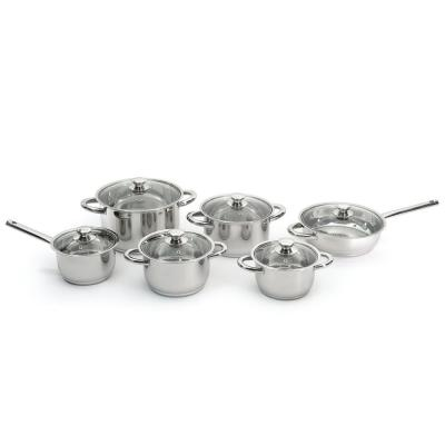 Vision 12-Piece 18/10 Stainless Steel