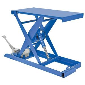 Vestil 20 inch x 40 inch 1000 lb. Foot Pump Scissor Lift Table by Vestil