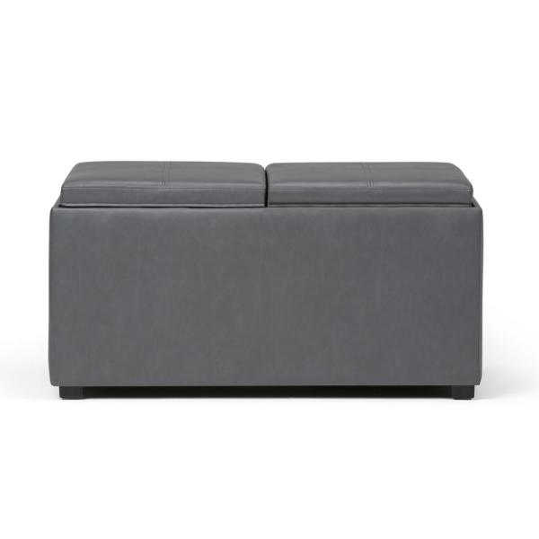 Phenomenal Simpli Home Avalon 35 In Contemporary Storage Ottoman In Ncnpc Chair Design For Home Ncnpcorg
