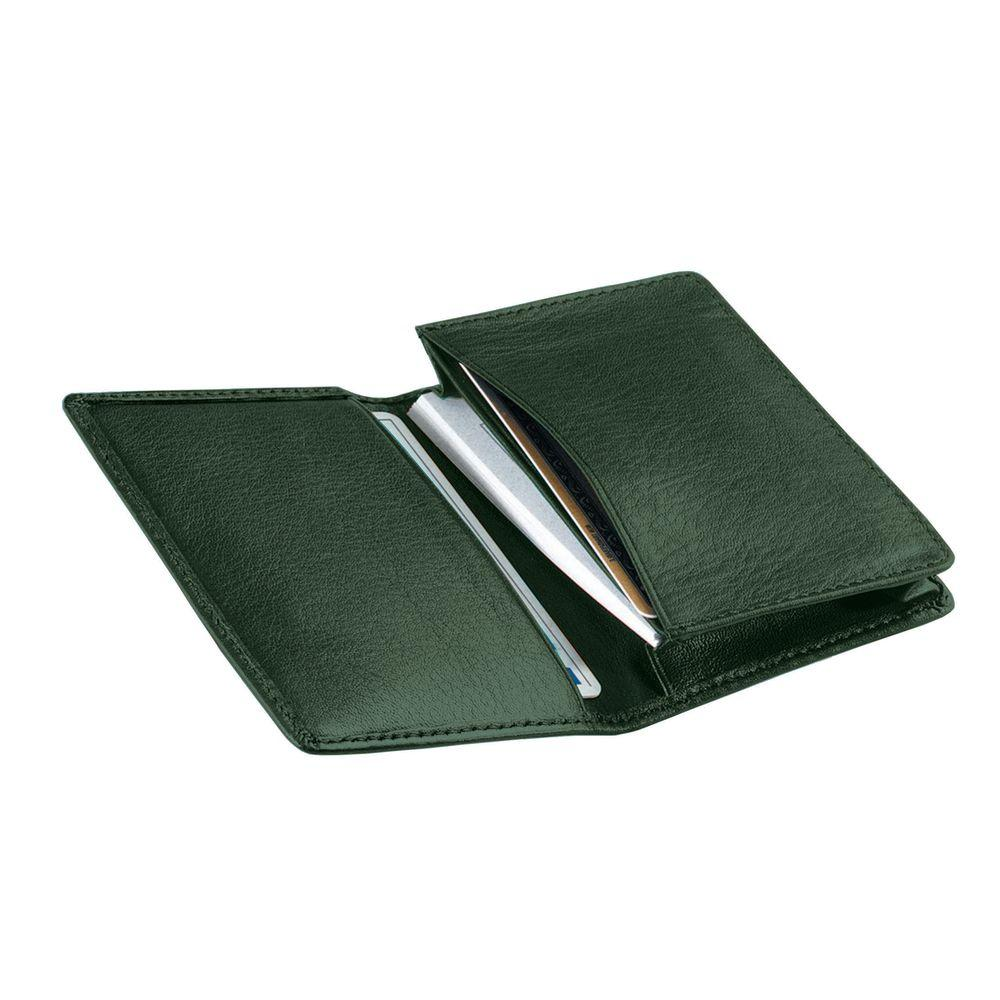 Royce Genuine Leather Executive Business Card Case Wallet in Green ...