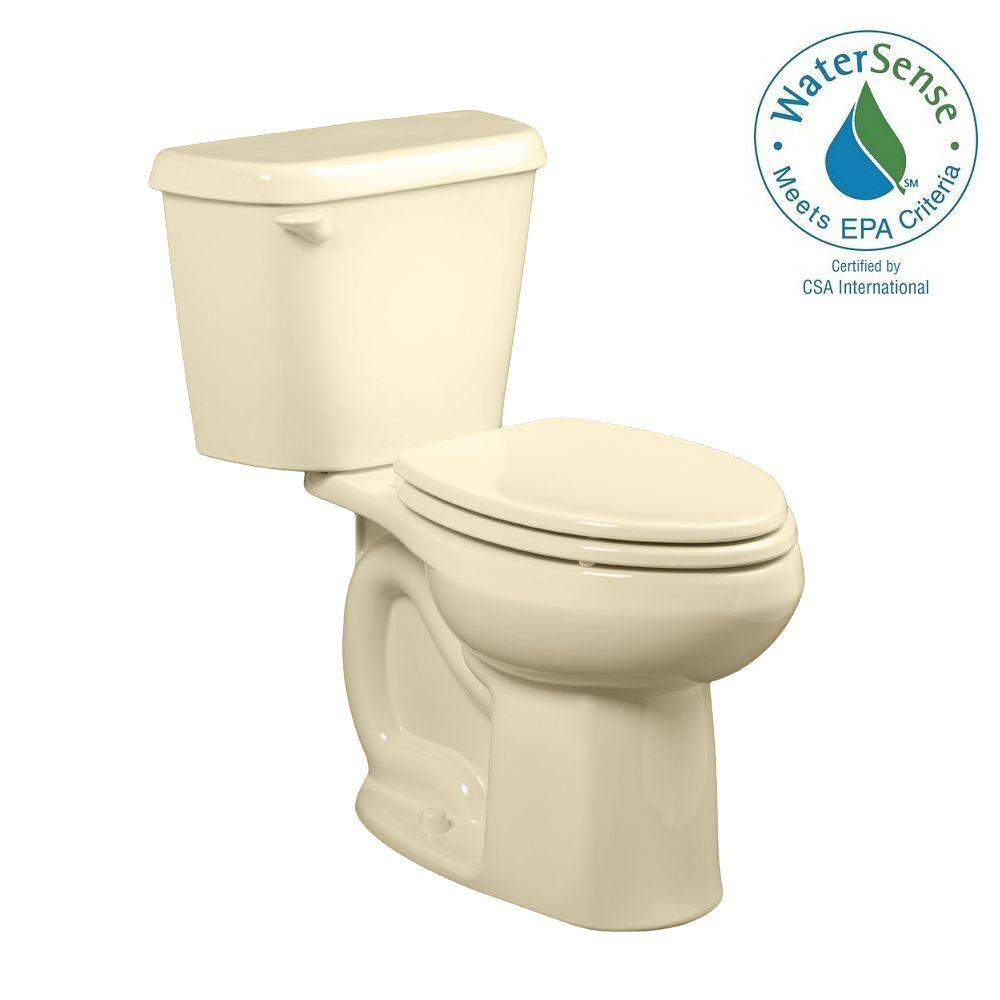 Colony 2-Piece 1.28 GPF High-Efficiency Elongated Toilet in Bone