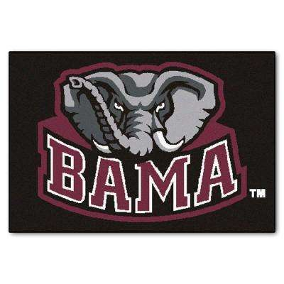 University of Alabama 19 in. x 30 in. Accent Rug