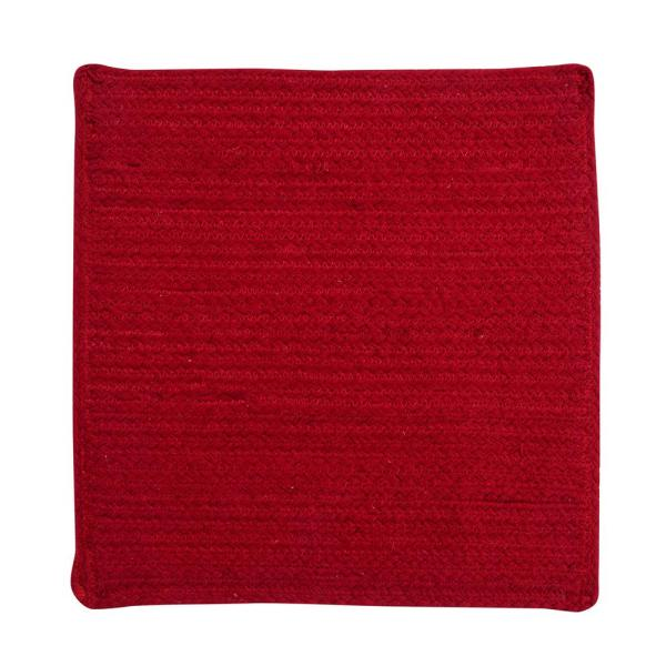 Cotton Solid Red Placemats