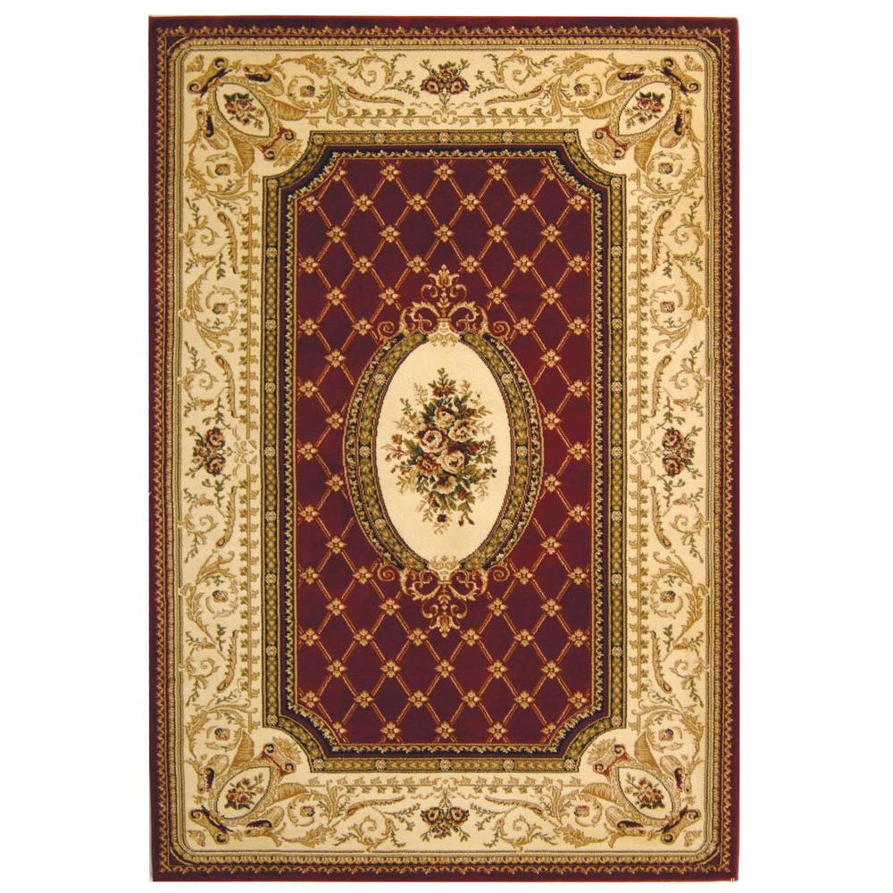 Safavieh Lyndhurst Red/Ivory 5 ft. 3 in. x 7 ft. 6 in. Area Rug