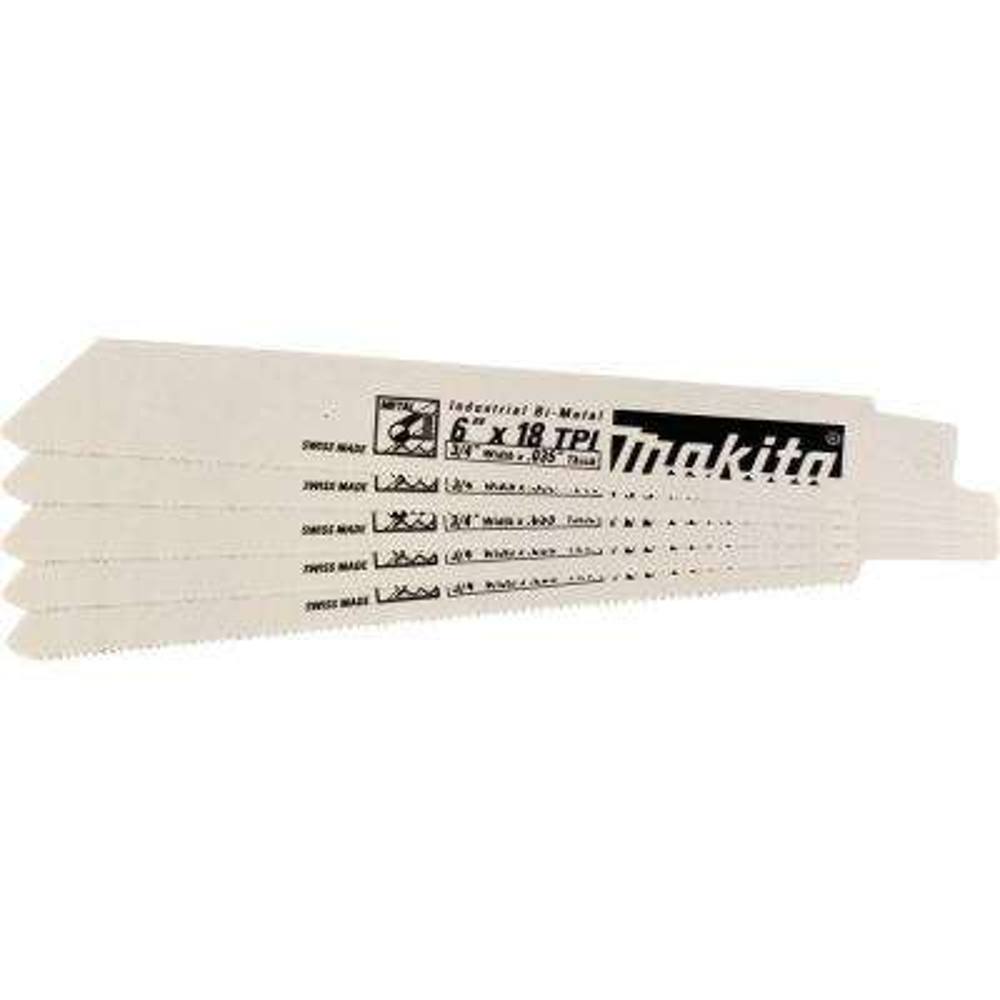 6 in. 24 Teeth per in. Metal Cutting Reciprocating Saw Blade (25-Pack)