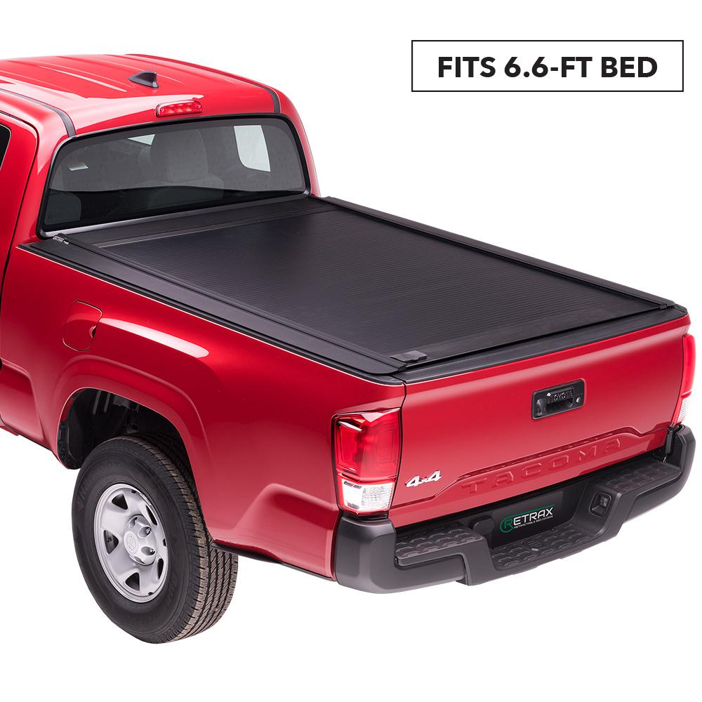 Retrax One Mx Tonneau Cover 07 19 Toyota Tundra Regular Double Cab 6 6 Bed W Deck Rail System W Out Stake Pockets 60842 The Home Depot