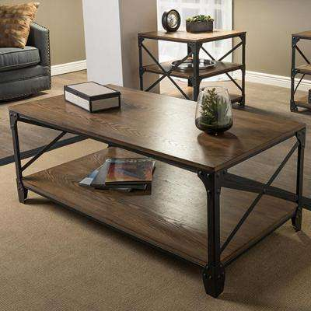 Greyson Antique Bronze 3-Piece Nesting End/Side Table Set