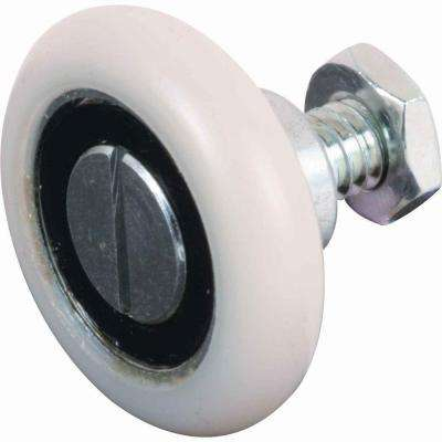 1-1/8 in. Nylon Ball Bearing Drawer Rollers (2-Pack)