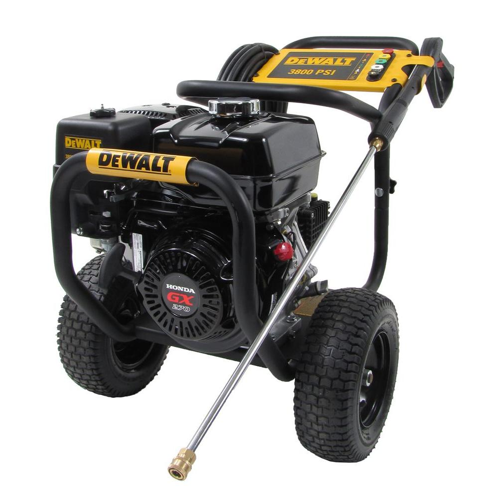 dewalt pressure washers dxpw3835 64_1000 dewalt honda gx270 3,800 psi 3 5 gpm gas pressure washer 60576 the