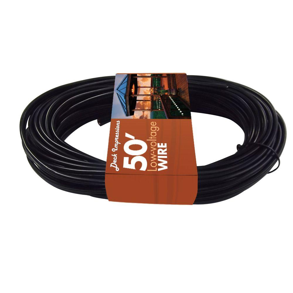 Deck Impressions 50 ft. 16 AWG Low-Voltage Cable-DISCONTINUED