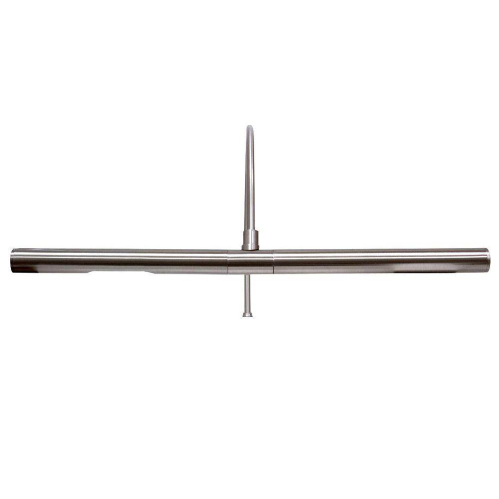 GE 16 in. Slim Nickel Picture Light-DISCONTINUED