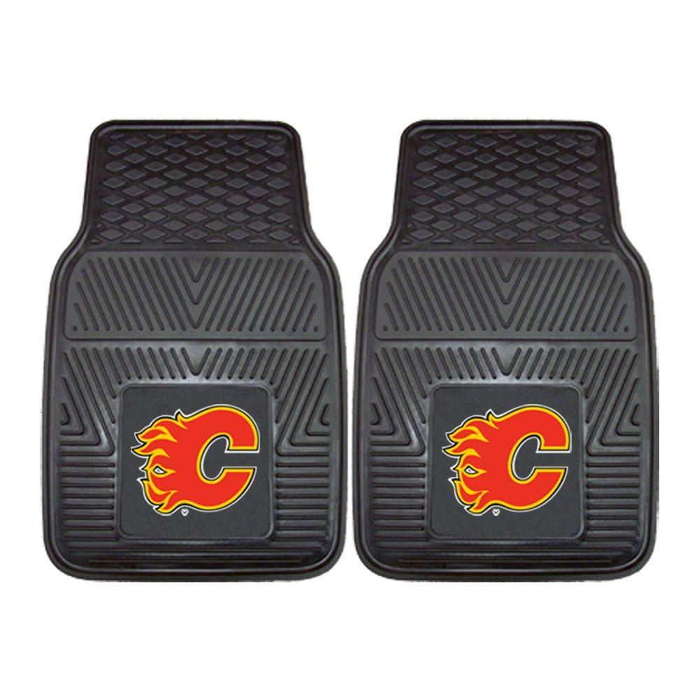 Calgary Flames 18 in. x 27 in. 2-Piece Heavy Duty Vinyl
