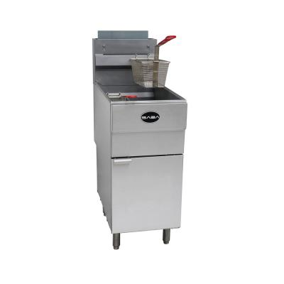 16 in. 45 lb. Capacity Natural Gas Commercial Fryer