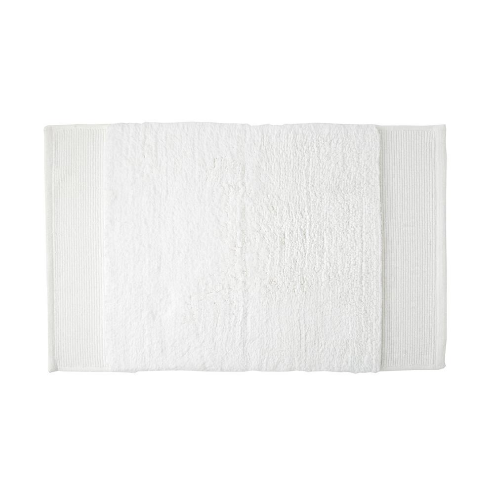 Organic White Solid Cotton Fingertip Towel (Set of 2)