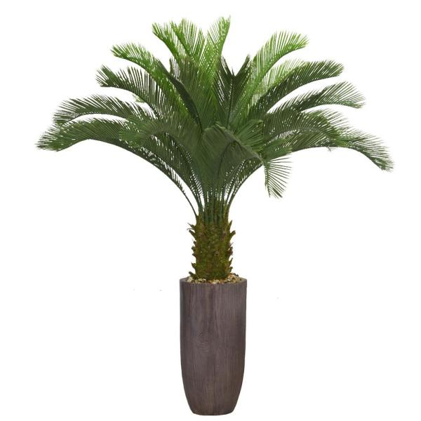 Laura Ashley 62.2 in. Palm Tree Artificial Faux Dcor in Resin