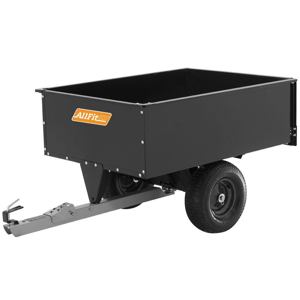 AllFitHD 16 cu. ft. Steel Swivel Dump Cart