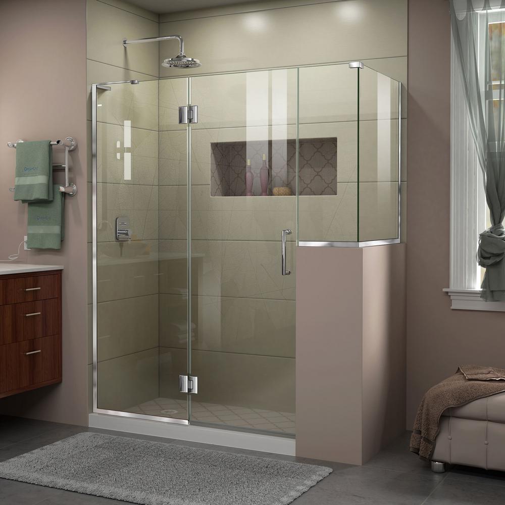 Steam planet orion 59 in x 32 in x 86 in steam shower for Frameless corner shower enclosure