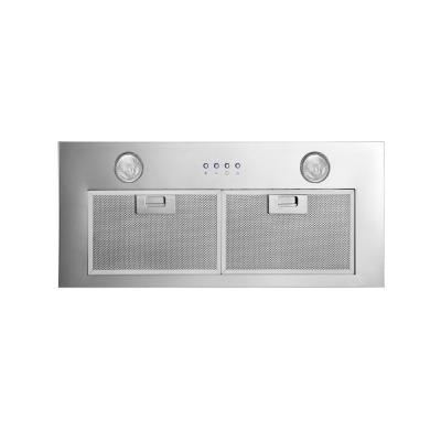 Inserta Chef 28 in. Built-In Range Hood in Stainless Steel
