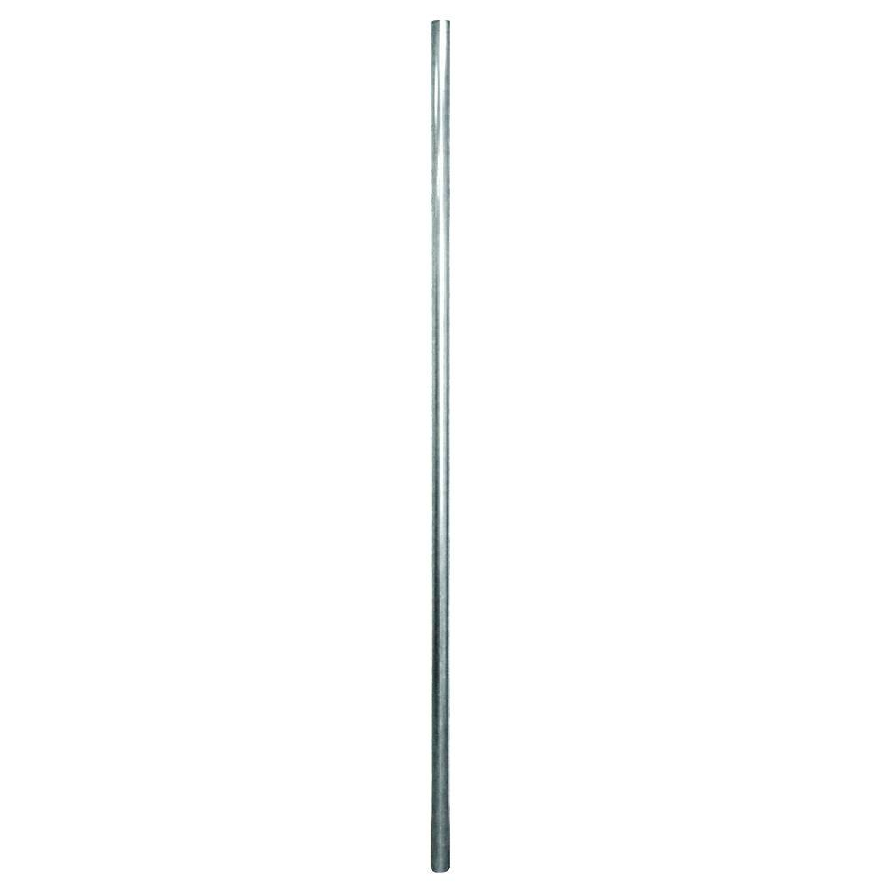 Yardgard 2 38 In X 2 38 In X 10 Ft Galvanized Metal