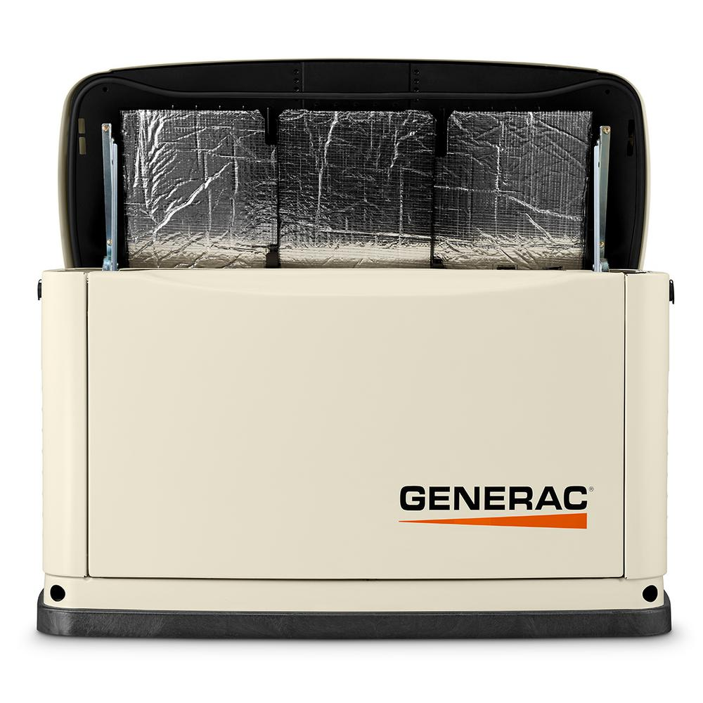 16000-Watt (LP)/16000-Watt (NG) Air-Cooled Standby Generator with Wi-Fi and 16