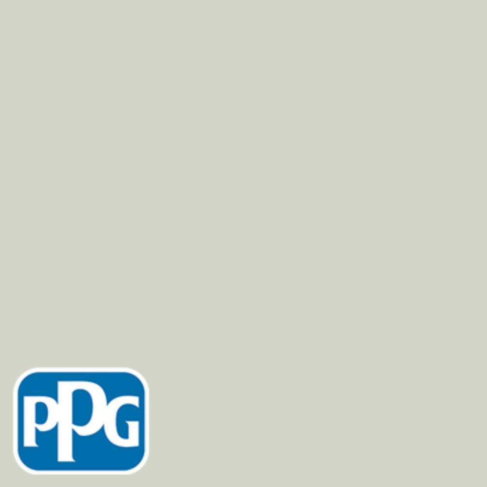 PPG TIMELESS 8 oz. #HDPPGCN06U Misty China Rain Green Flat Interior/Exterior Paint Sample