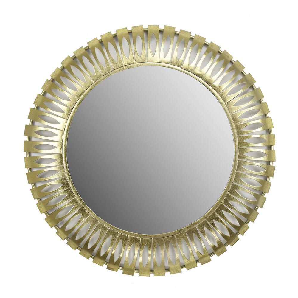 Elam Gold Metal Mirror