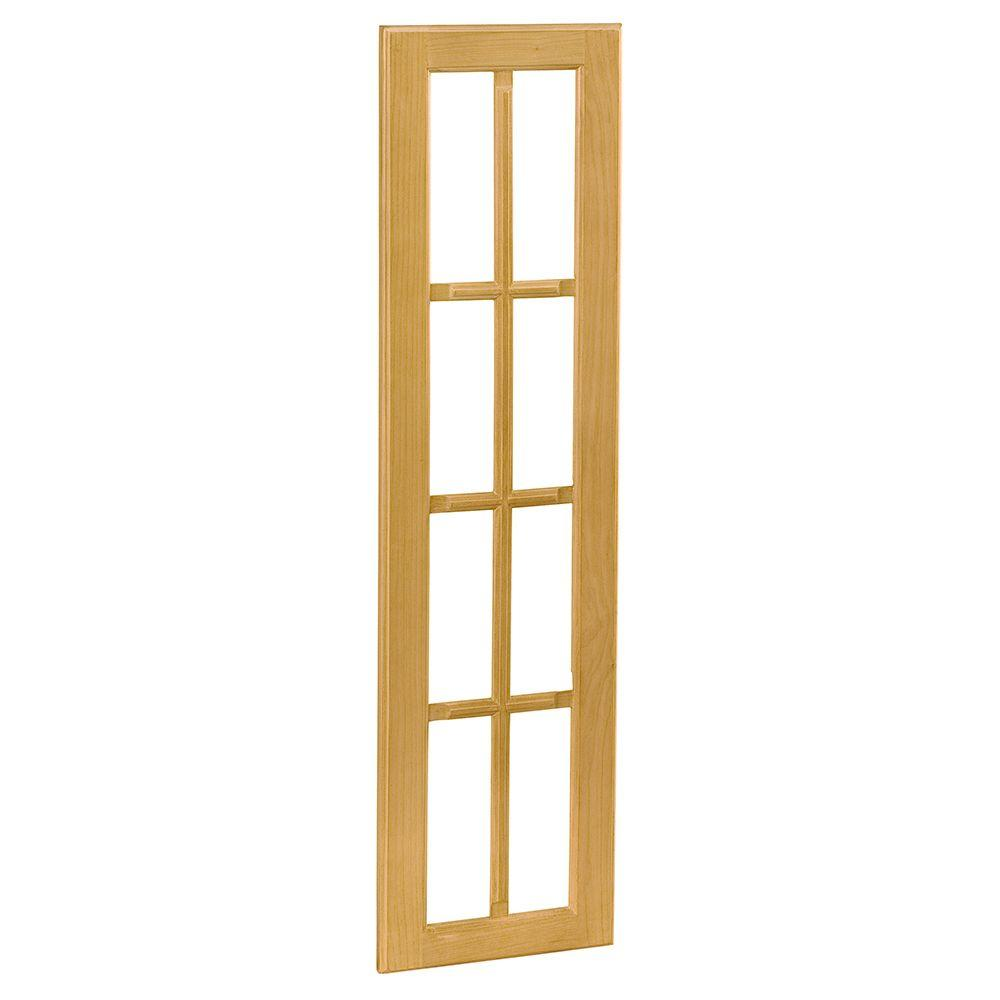 Home Decorators Collection 14.75x42x.75 in. Mullion Door for Wall Angle Cabinet in Vista Honey Spice