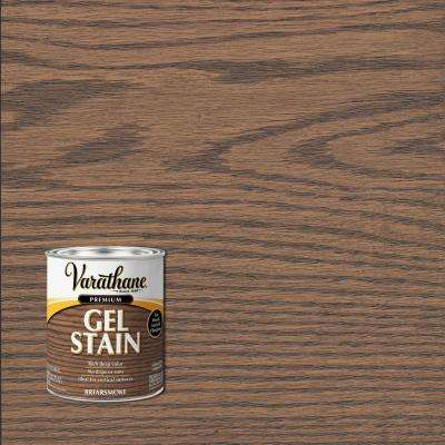 1 qt. Briarsmoke Semi-Transparent Interior Wood Gel Stain