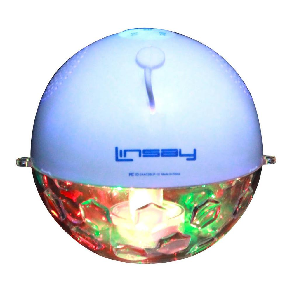 LINSAY Pool Party Waterproof Bluetooth Speaker with LED Light Show ...