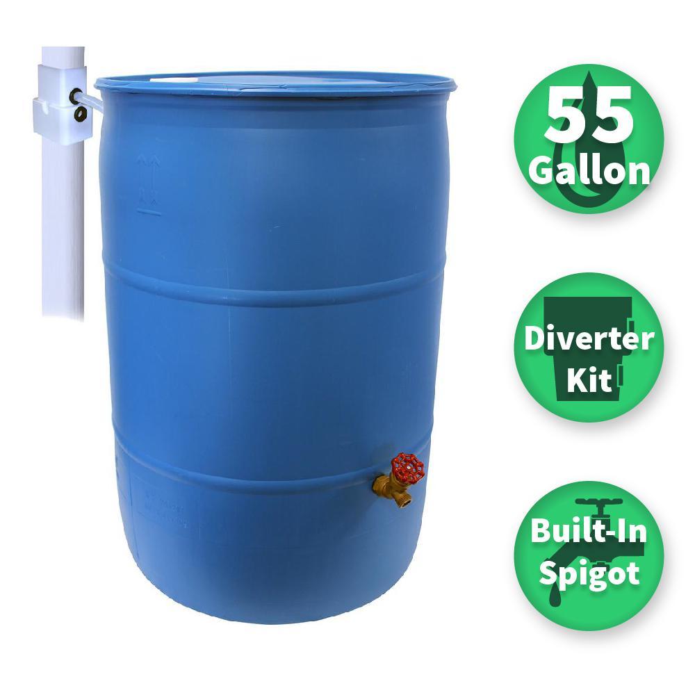 Rain Barrels Watering Irrigation The Home Depot