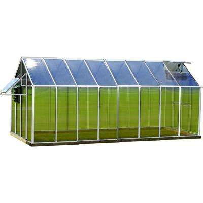 8 ft. x 16 ft. Aluminum Mojave Greenhouse