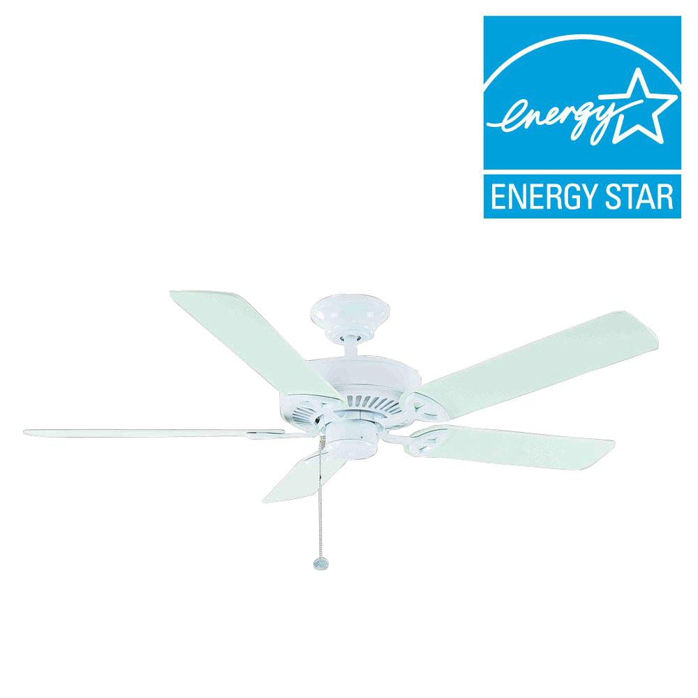 Farmington 52 in indoor natural iron ceiling fan 32764 the home depot this review is fromfarmington 52 in indoor matte white ceiling fan aloadofball Gallery