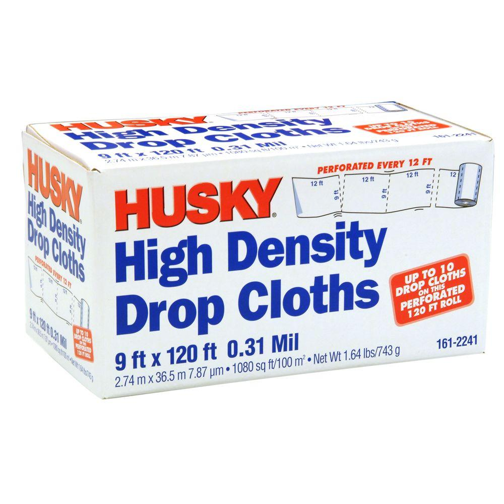 Husky 9 ft x 120 ft perforated drop cloth dchk09120h the home depot husky 9 ft x 120 ft perforated drop cloth publicscrutiny Gallery