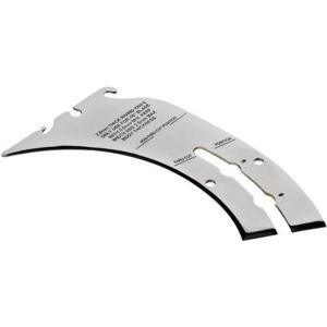 Click here to buy Delta BIESEMEYER Thin Kerf Riving Knife Table Saw Accessory by Delta.
