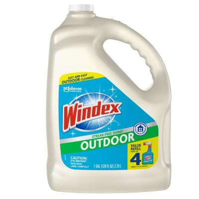 128 fl. oz. Outdoor Glass Cleaner Refill (4-Pack)