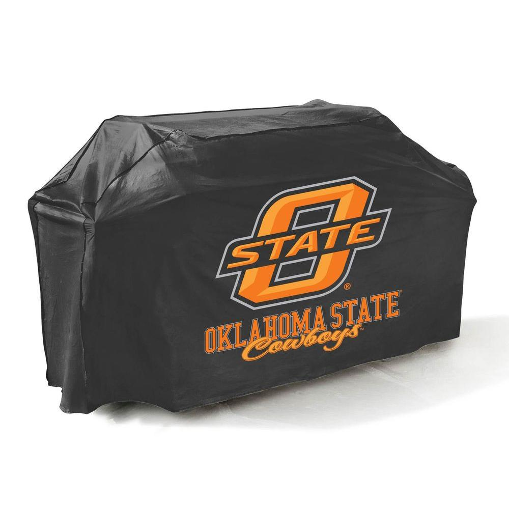 Mr. Bar-B-Q 65 in. NCAA Oklahoma State Cowboys Grill Cover-DISCONTINUED