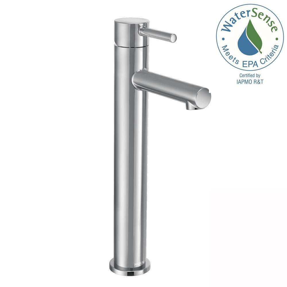 Align Single Hole Single-Handle Vessel Bathroom Faucet in Chrome
