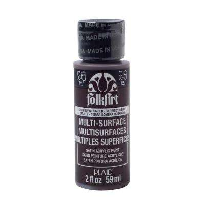 2 oz. Burnt Umber Multi Surface Paint