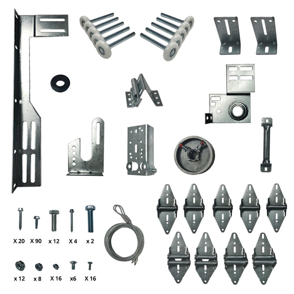 Dura Lift Garage Door Hardware Installation Kit For 8 Ft X 7 Ft