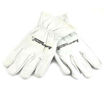 Lined Goatskin Leather Driver's Gloves (Men's L)
