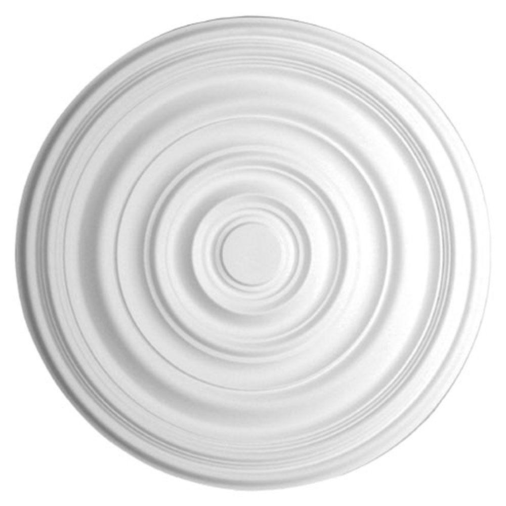 29-1/8 in. x 1-1/2 in. Plain Polyurethane Ceiling Medallion