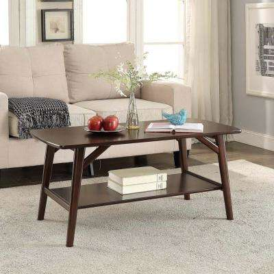 Cape May Espresso Coffee Table